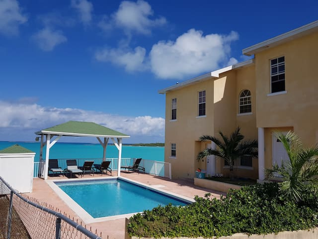 Beach Front Condo 1 -UPGRADED George Town Exuma