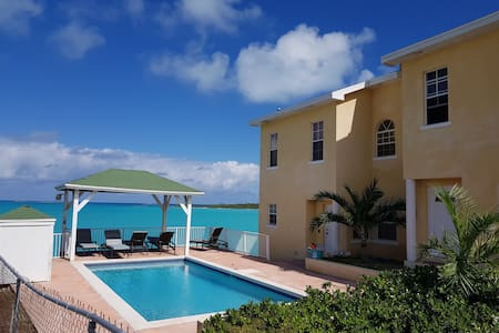 Beach front condo #1 -UPGRADED George Town, Exuma