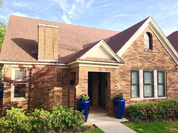 Historic Tudor in the heart of East Dallas