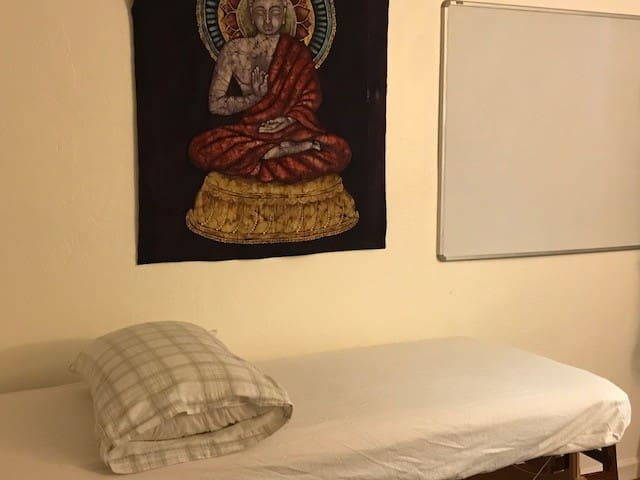 Second bedroom - used by me as a treatment room.  Has massage table