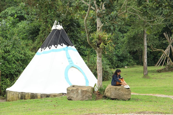 Refugio Del Bosque azul