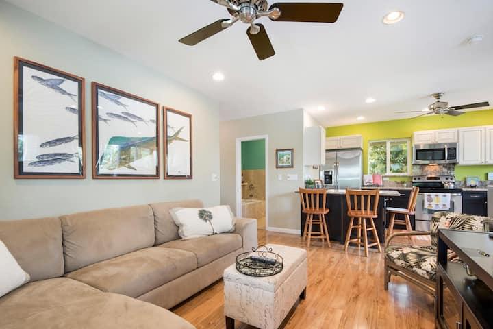 Clean/New Kailua apartment sleeps 5