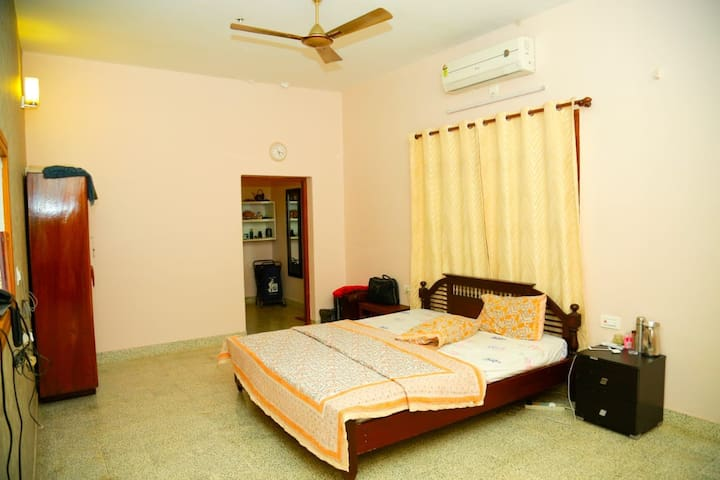 Presidential suite room in traditional house
