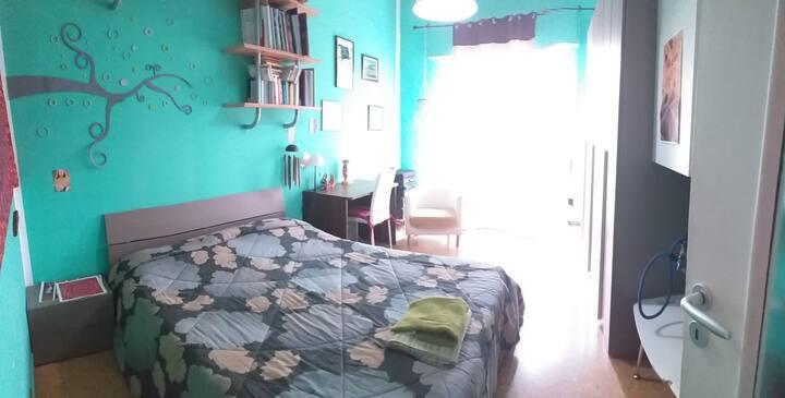 Camera doppia in appartamento a uso esclusivo
