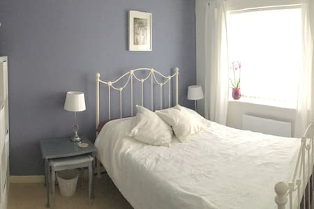 Elegant double room with bathroom - Birkenhead - Casa