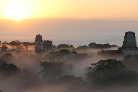 Hotel Jaguar Inn Tikal: Bungalow Triple