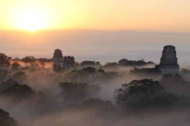 Hotel Jaguar Inn Tikal: Bungalow Double