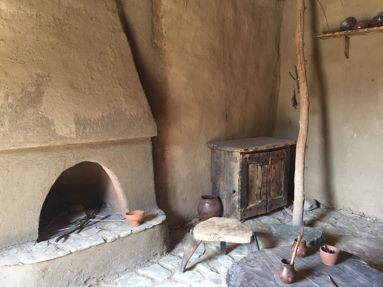 Neolithic House (6,200 BC)