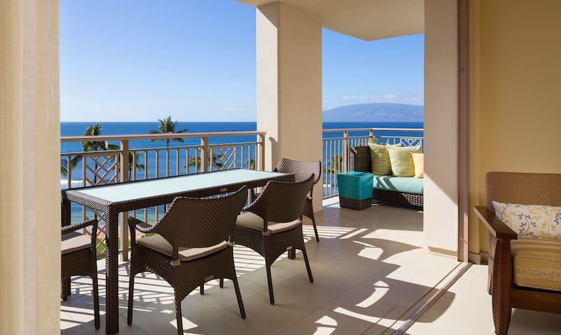 Hyatt Residence Club Kaanapali 2BR Ocean Front