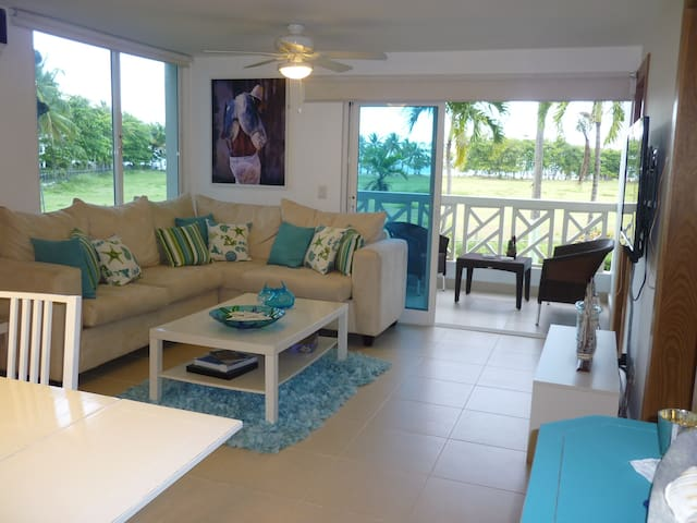 Beach front and golf Condo