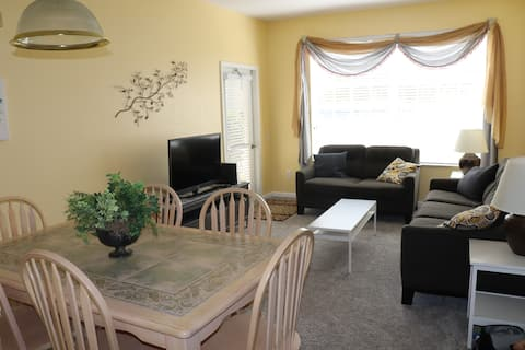 First Floor 2BR Condo Next to Resort Pool