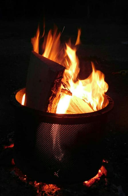 Camp fire sites available. Wood can be purchased