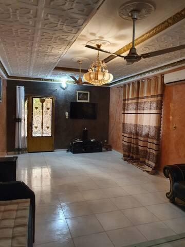 Villa meublé a bacodjicoroni Golf bamako