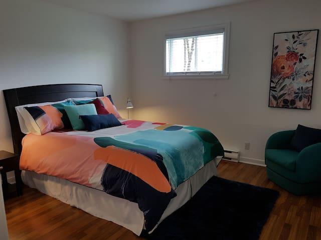 appartement chaleureux au coeur de Quebec