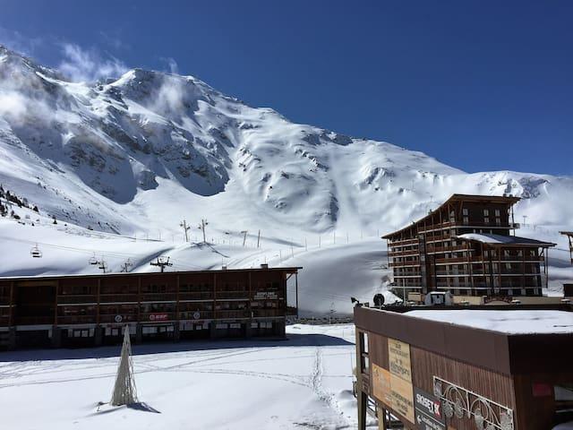 2 piéces sud coeur station, ski au pieds, Arc 2000 - Bourg Saint Maurice - Apartament