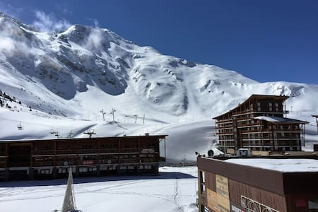 2 piéces sud coeur station, ski au pieds, Arc 2000 - Bourg Saint Maurice