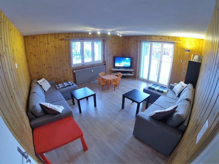 Gemütliche Wohnung in Sedrun