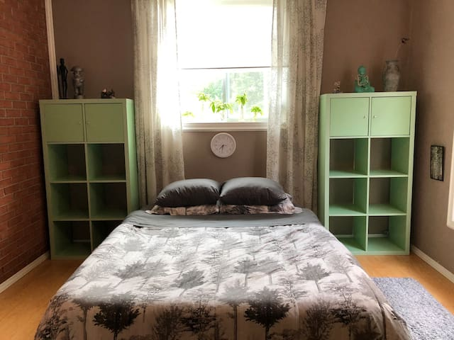 Large bedroom with private entrance