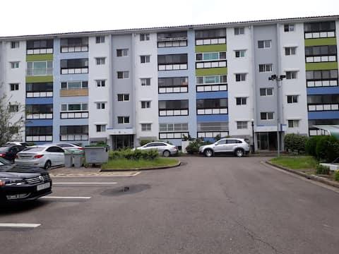 광양제철소 주택단지 *18평 아파트*침대*