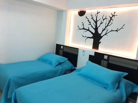 Bajo La Ceiba, apartamento independiente, con wifi