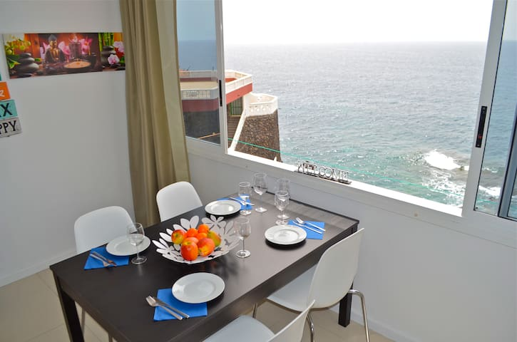 Two-room Apartment with Sea View - Santiago del Teide - Apartament