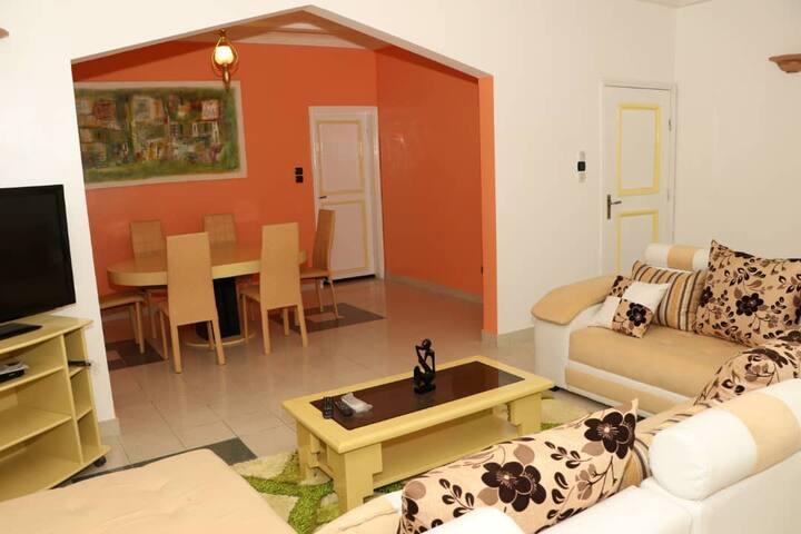Appartement Fidjrossè non loin de l'aéroport