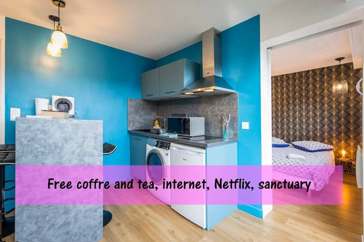 Appartement design ◉Centre ville ◉Sanctuaire ◉Cosy
