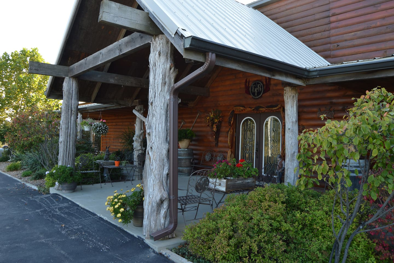 East Fork Lodge - Entrance to Main Lodge
