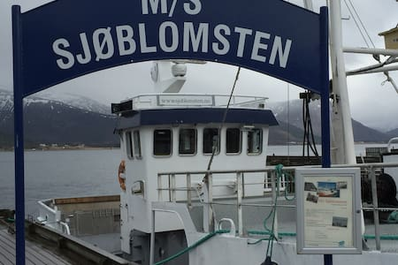 M/V Sjøblomsten - Historic fishing and huntingboat - Sortland - Loď