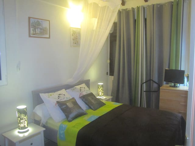 Villa Elisa - Appartement avec jardin La Jaille
