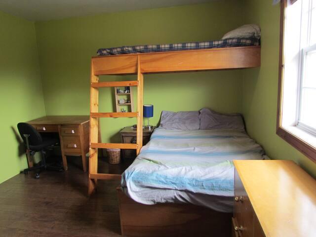 Bedroom #2 Bunkroom