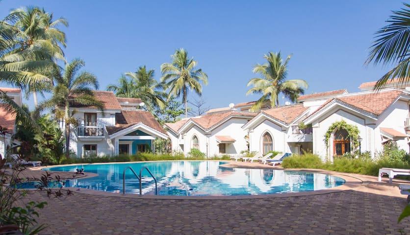 Stunning & spacious poolside villa near Baga beach - Arpora - Villa