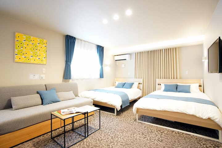 Open Sale!New Apt close to USJ, Namba, Umeda KS302