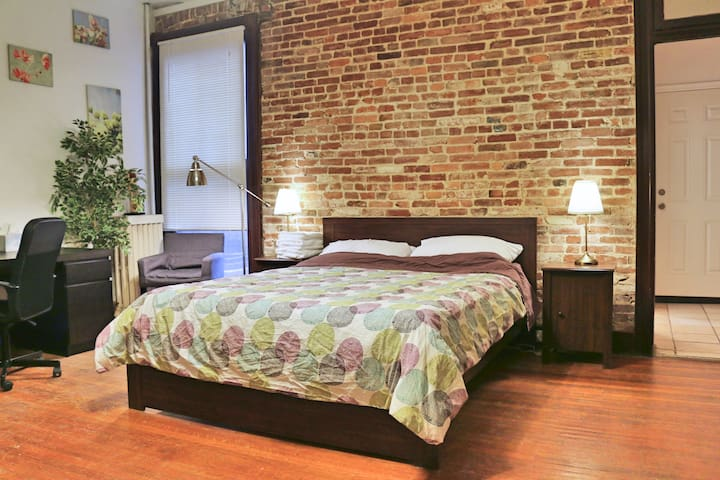 Your Sweet Studio Away From Home @ Charles Village - Baltimore - Apartamento
