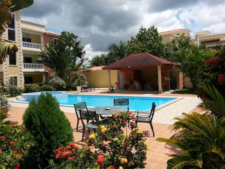 Pristine All inclusive penthouse Apt in Boca Chica