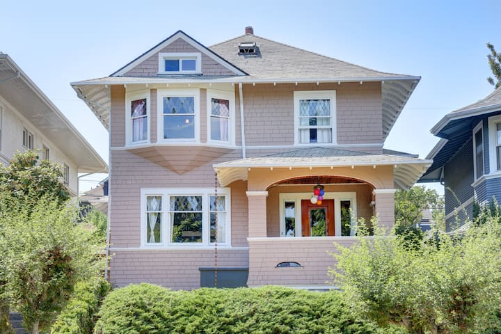 Great apartment in Classic Capitol Hill Home