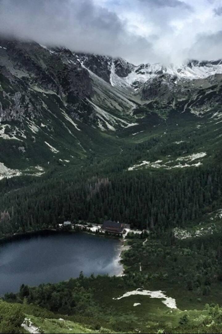 Popradské pleso - High Tatras