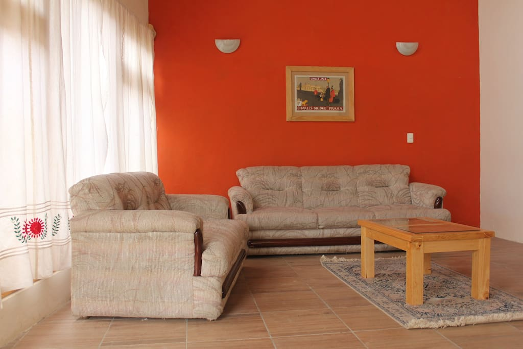 Sala, estancia con Pantalla TV