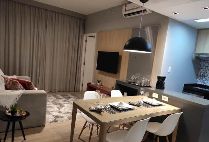 Apartamento no Adágio Aparthotel (Astron Hotéis)
