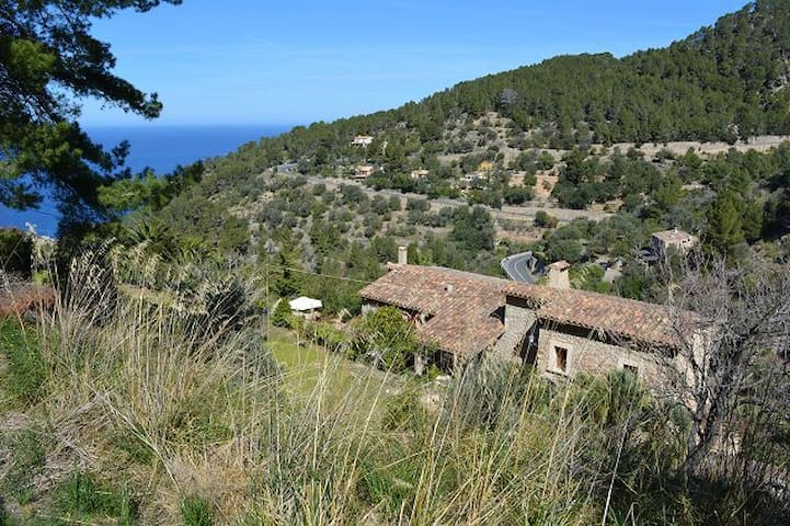 Charming guest flat in historic Finca Banyalbufar - Banyalbufar - Appartement