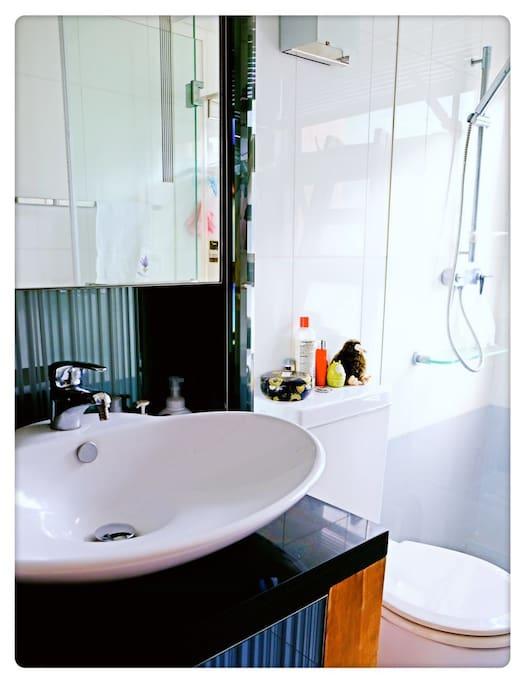 Individual bath room