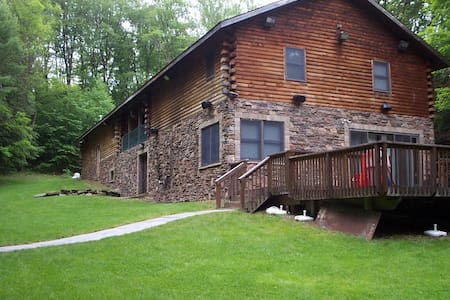 Large Modern Cabin with Hot Tub - Mongaup Valley - Casa