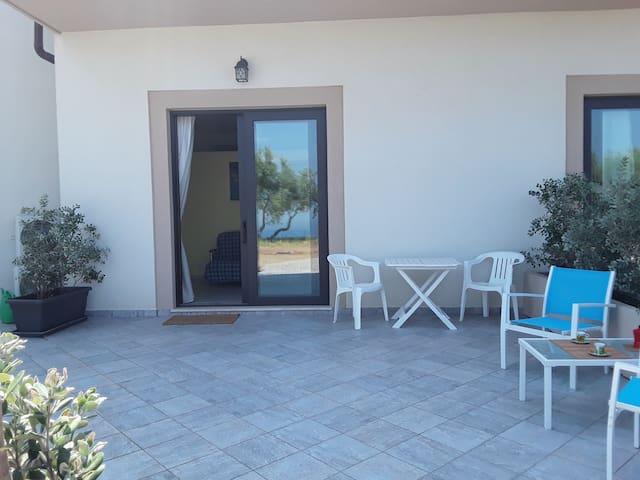 Casa vacanza Colori di Sicilia appartamento giallo