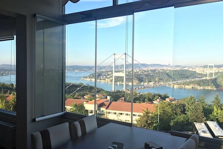 Full Bosphorus View Suite #10 Magnificent Flat - Leilighet
