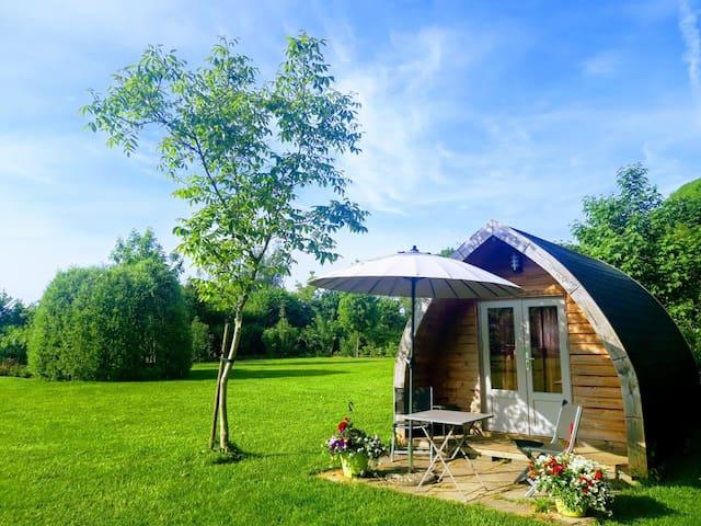 Lovely cottage at campsite near 's Hertogenbosch