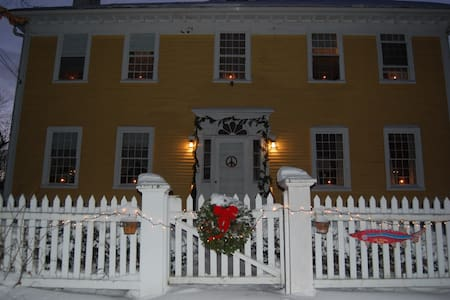Spend the Night in Historic Yellow House