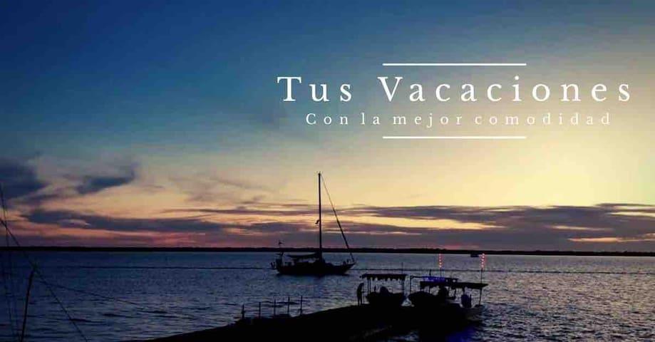 Depa Caracol Nuevo Altata+alberca+ playa+caminando