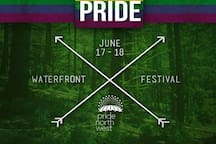 Pride Portland is more like Pride Month. Let your flag fly!