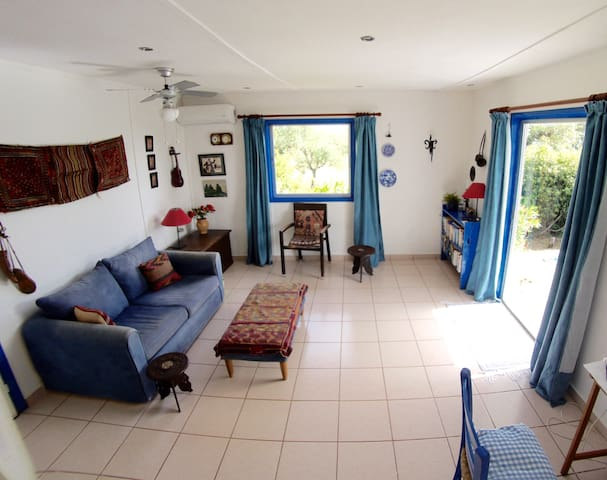 One bed, detached holiday home with private garden - Stoupa - Huis