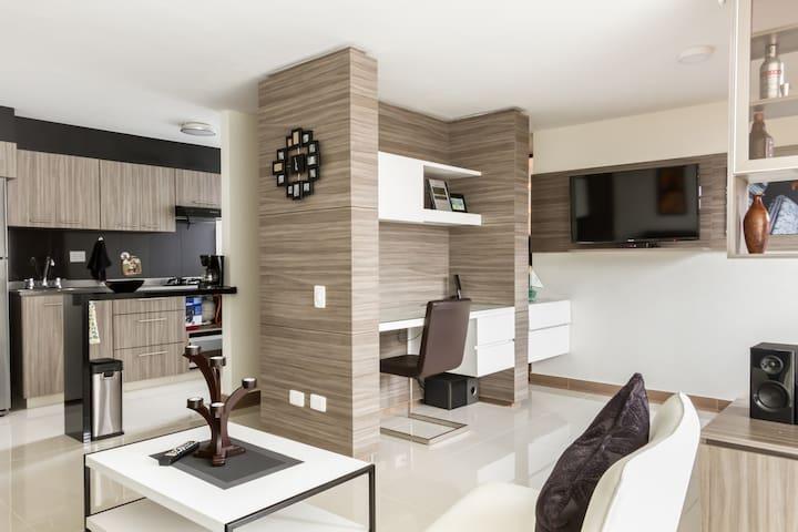 Hermoso y cómodo Apartaestudio en Rionegro. - Rionegro - Apartment